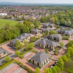 The Parks Haydock Aerial View