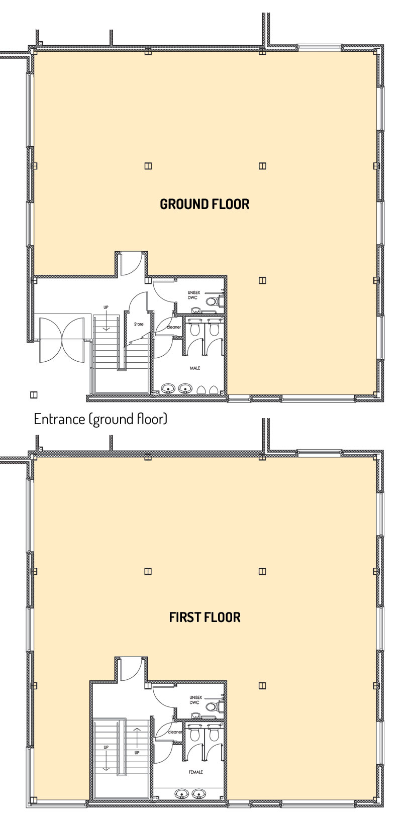 Floorplans for No 8 The Parks Haydock