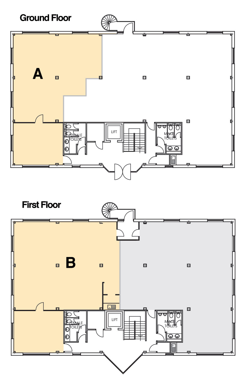 Unit 4 Floorplans