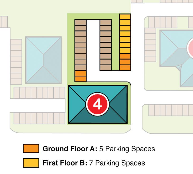Parking Spaces for Unit 4